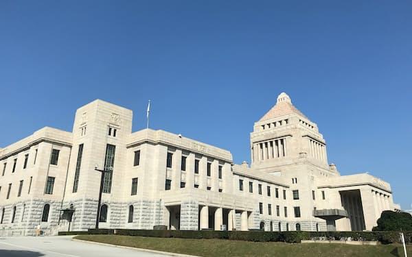 国会議事堂(衆院側から)