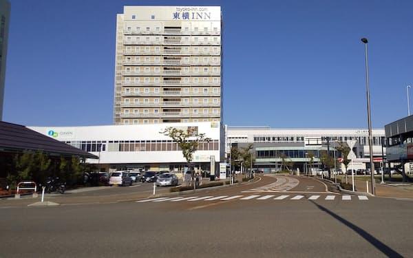 上越妙高駅西口のビル内にJM-DAWNを開設した(上越市)
