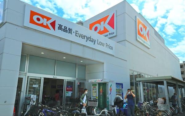 オーケーの店舗(横浜市)