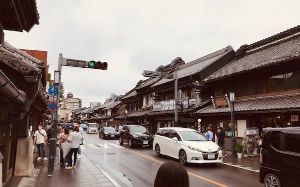 埼玉県を代表する観光地・川越も西日本などでは認知度が低いという(2021年8月、埼玉県川越市)