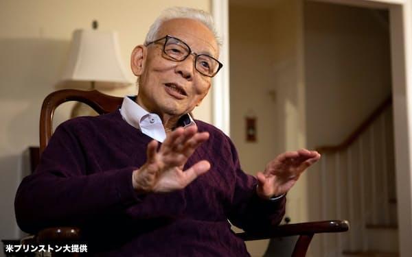 2021年のノーベル物理学賞の受賞が決まった真鍋淑郎氏=米プリンストン大学提供