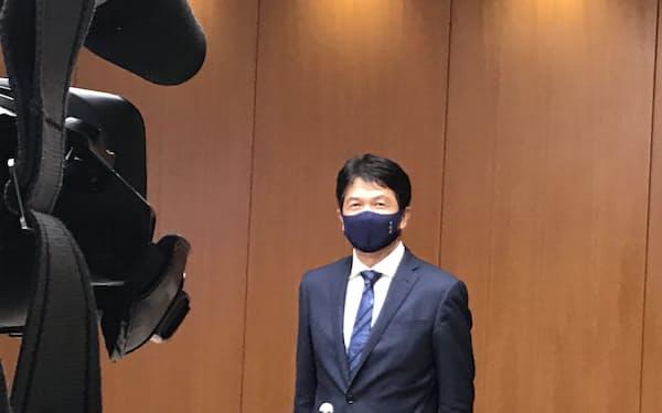 茨城県の大井川知事は「今までとやることは変わらない」と述べた(茨城県庁)