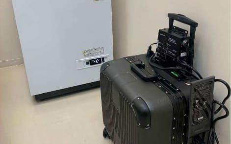 LB社の蓄電池はコロナワクチンの冷凍庫の非常用バックアップに使われている