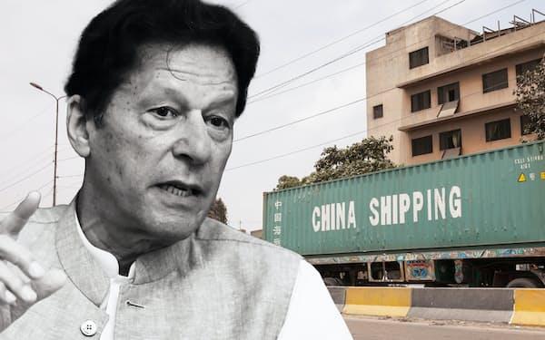 パキスタンのカーン首相は中国によるカラチ開発を「大変革」と呼んだ =ゲッティ共同、ロイター