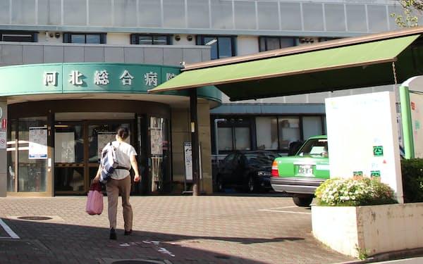 河北総合病院はコロナ病床を縮小する(東京都杉並区)