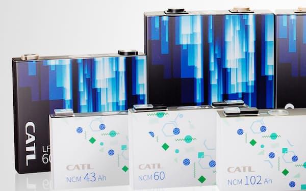 中国のCATLは車載電池の大規模な増産を進めている