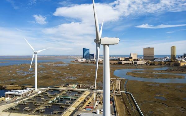 排出ゼロには再生可能エネルギーの活用が欠かせない=AP