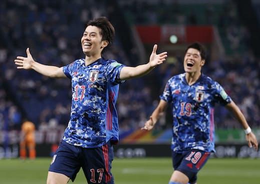 【朗報】「サッカーカタールW杯アジア最終予選」日本代表、オーストラリア代表相手に2-1で勝利し勝ち点6