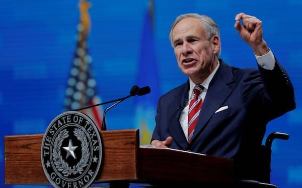 米テキサス州のアボット知事は来年の再選を目指している=ロイター