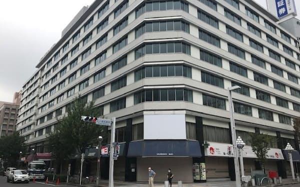 名古屋国際ホテルなどが入っていた「栄町ビル」が閉館した(名古屋市中区)