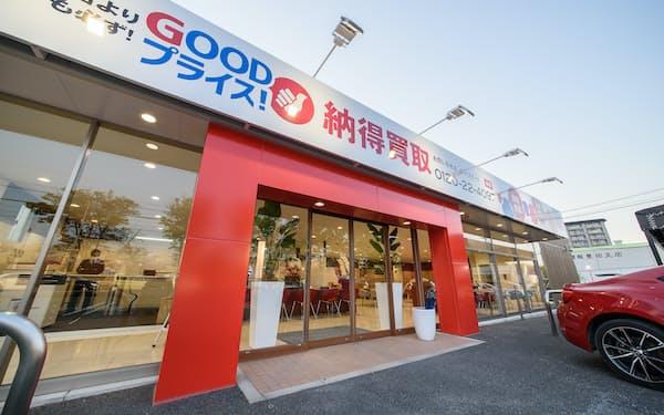 グッドスピードが20年5月にオープンした買い取り専門店(愛知県豊田市)