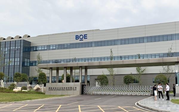 京東方科技集団(BOE)の綿陽工場