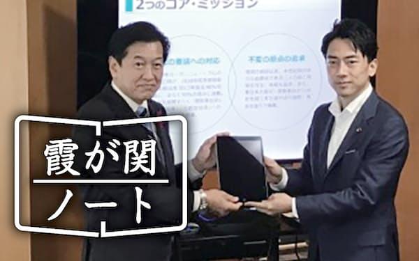 高い知名度を誇った小泉進次郎氏からバトンを受け継いだ