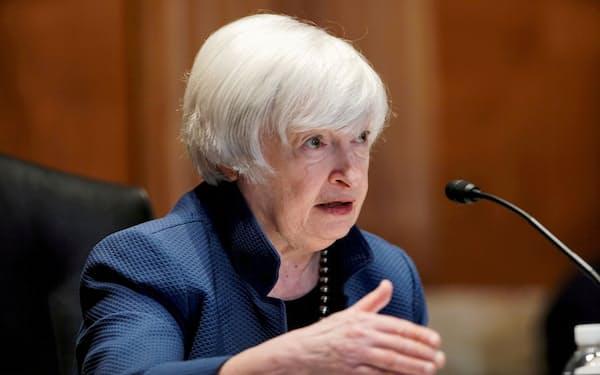 イエレン米財務長官は「画期的な合意に達した」と強調した(写真は6月)=ロイター