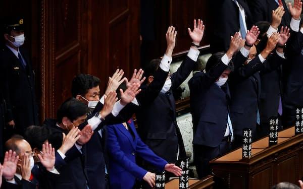 31日の衆院選に向け、与野党の経済論戦も白熱する=ロイター
