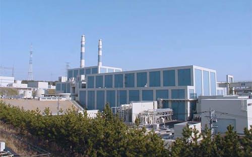北陸電力は志賀原発2号機の周辺の断層について説明した(石川県志賀町)