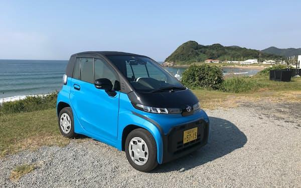 糸島で2人乗り小型EVのシェアサービスも始まった