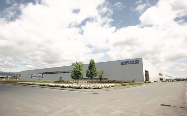 曙ブレーキは国内4工場で認証を再取得した(山形県寒河江市)