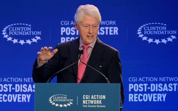 クリントン元米大統領=ロイター