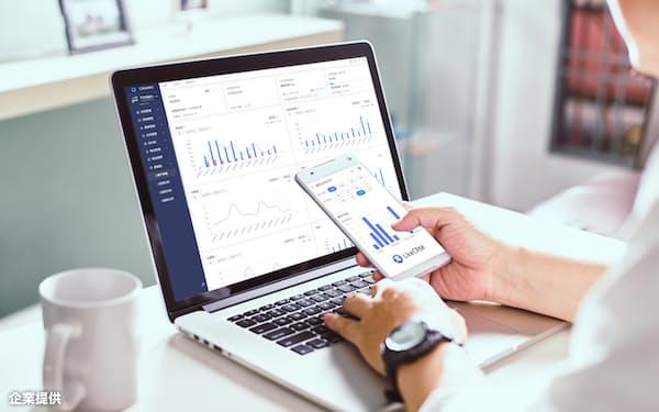 物件管理SaaS「CREAMS」および顧客管理「LikeCRM」で一括管理=企業提供