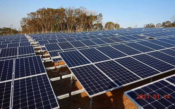 補修したうえで環境意識の高い企業などに売却する(大分県の太陽光発電所)