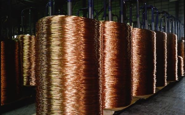 古河電工の銅電線