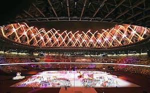 国立競技場で行われた東京パラリンピックの閉会式