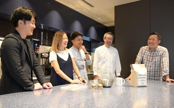 オイシックス・ラ・大地は厨房を備えた拠点で、スタートアップの商品開発を支援する(東京・新宿)