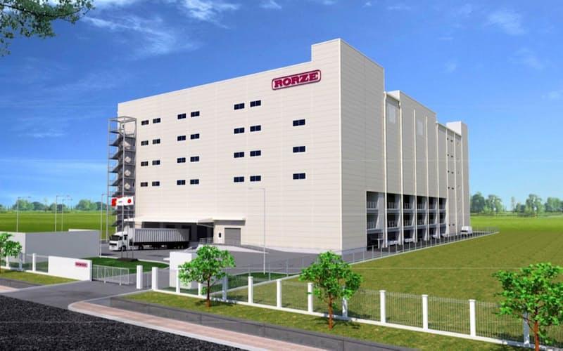 22年8月にはベトナムで新工場を立ち上げる(完成イメージ)