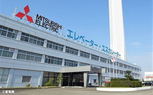 エレベーターなどを生産する愛知県稲沢市の稲沢製作所
