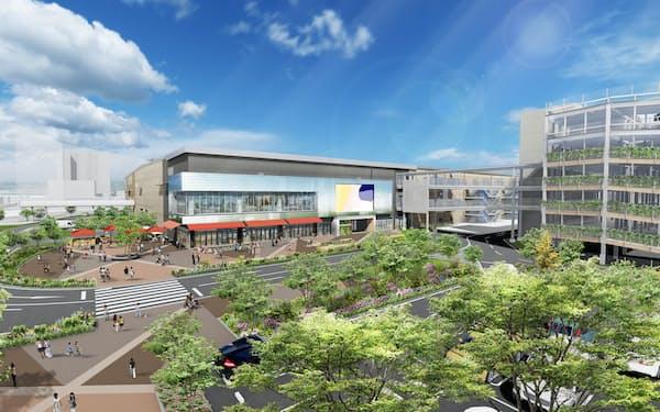 門真市で最大級の商業施設となる(イメージ)