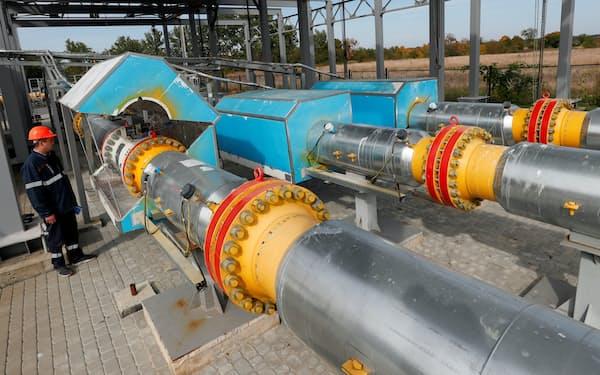ロシア国営企業のガスプロムは、ウクライナ経由のガスパイプラインの11月分の追加入札を見送った