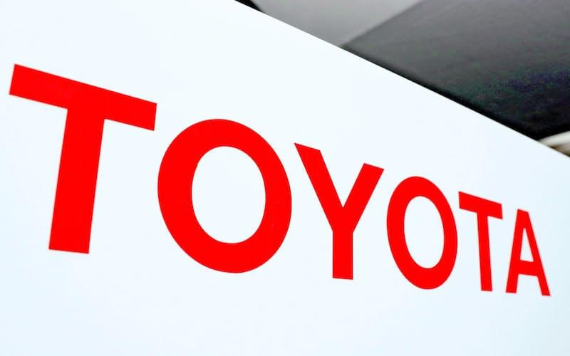 トヨタのロゴ