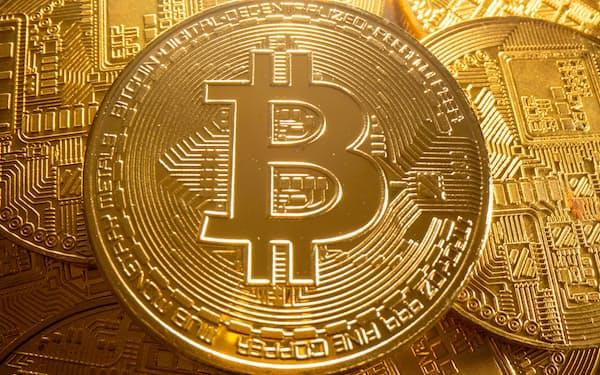 米プロシェアーズが運用するETFは米CME上場のビットコイン先物などに投資する(写真はロイター)が