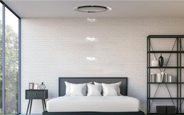 京セラはダイキン工業と共同で、光と空気で睡眠から快適に目覚めることができるシステムを開発
