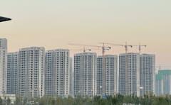 住宅開発が経済成長を下支えしてきた(河南省周口市)