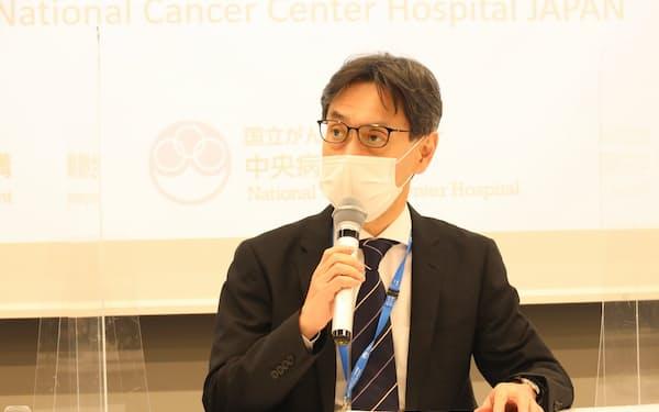 国立がん研究センター中央病院の島田和明病院長=同センター提供