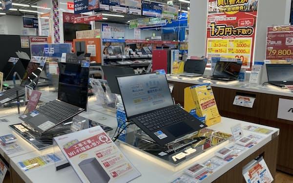 ビックカメラ有楽町店(東京都千代田区)のパソコン売り場