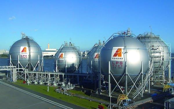 50年にLPガスをすべてグリーン化する
