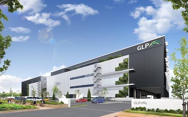 GLPはファンドを設立し、4000億円を調達する(同社の施設のイメージ)