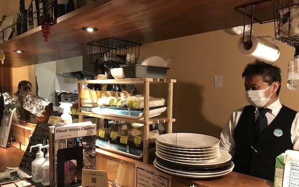 茨城県でもコロナ禍で飲食店は厳しい経営を迫られてきた(水戸市のワインバー)