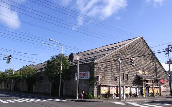 旧浪華倉庫(小樽市提供)