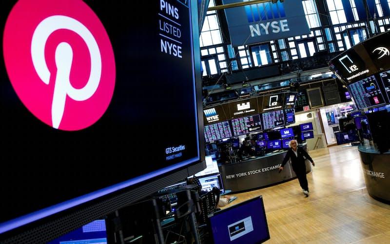 ペイパル株は買収観測で急騰した(20日、NYSE)=ロイター