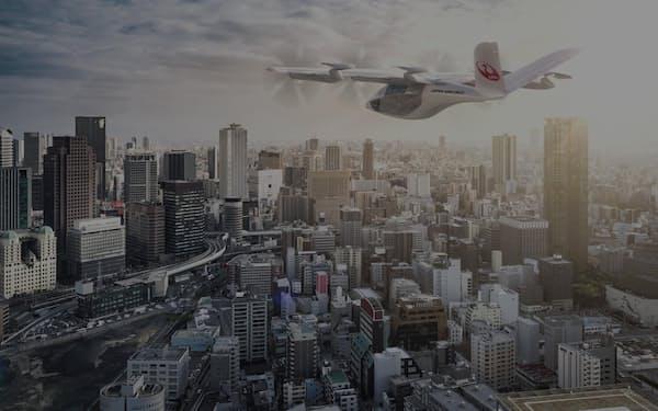 25年の大阪・関西万博に向けて複数の企業と提携を進めている(写真は導入のイメージ)