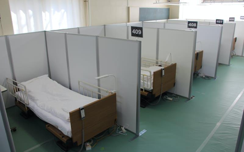 練馬区は小学校跡を転用して酸素・医療提供ステーションを開設した