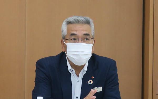 佐賀銀行は全額出資の地域商社を設立したと発表した(21日、福岡市)
