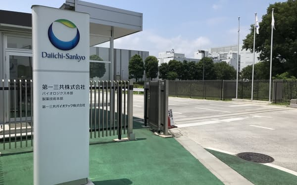 子会社の第一三共バイオテック(埼玉県北本市)で生産準備が進む