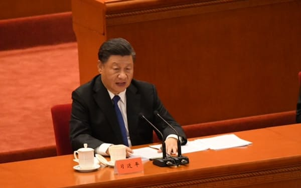 中国の習近平国家主席(2021年10月)