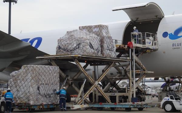 航空貨物は荷動きの伸びが続く
