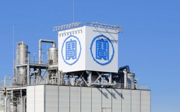 宝HD傘下の宝酒造の松戸工場(千葉県松戸市)